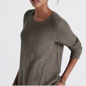 Madewell Riverside Textured Pullover Sweater
